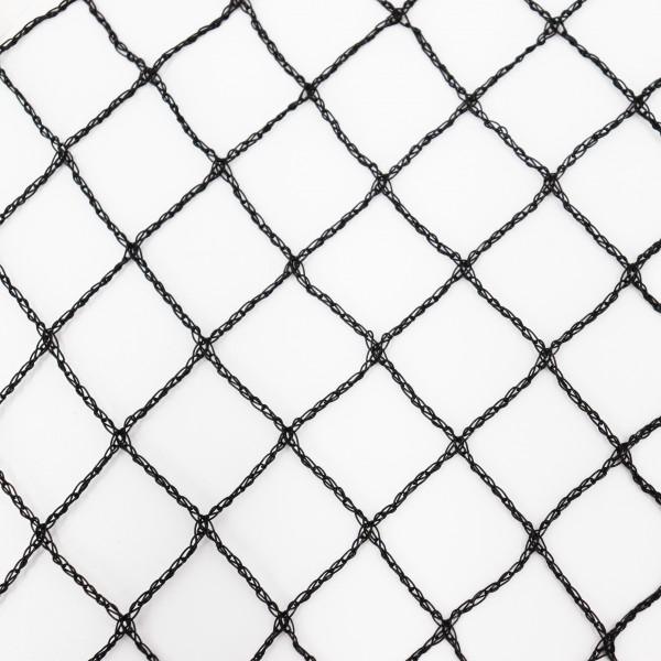 Teichnetz 16m x 4m schwarz Fischteichnetz Laubnetz Netz Vogelschutznetz robust