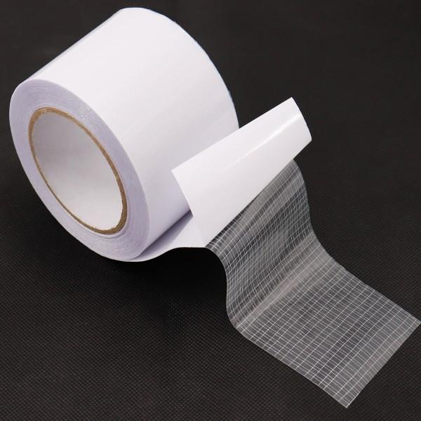 2x Reparaturklebeband I Gewächshausfolie Gitterfolie UV beständig 8cm x 15m