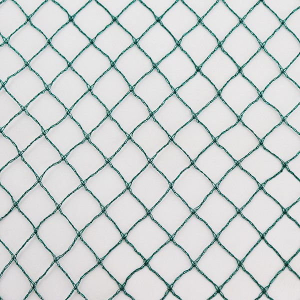Teichnetz 17m x 6m Laubschutznetz Reihernetz Silonetz Laubnetz Vogelschutznetz