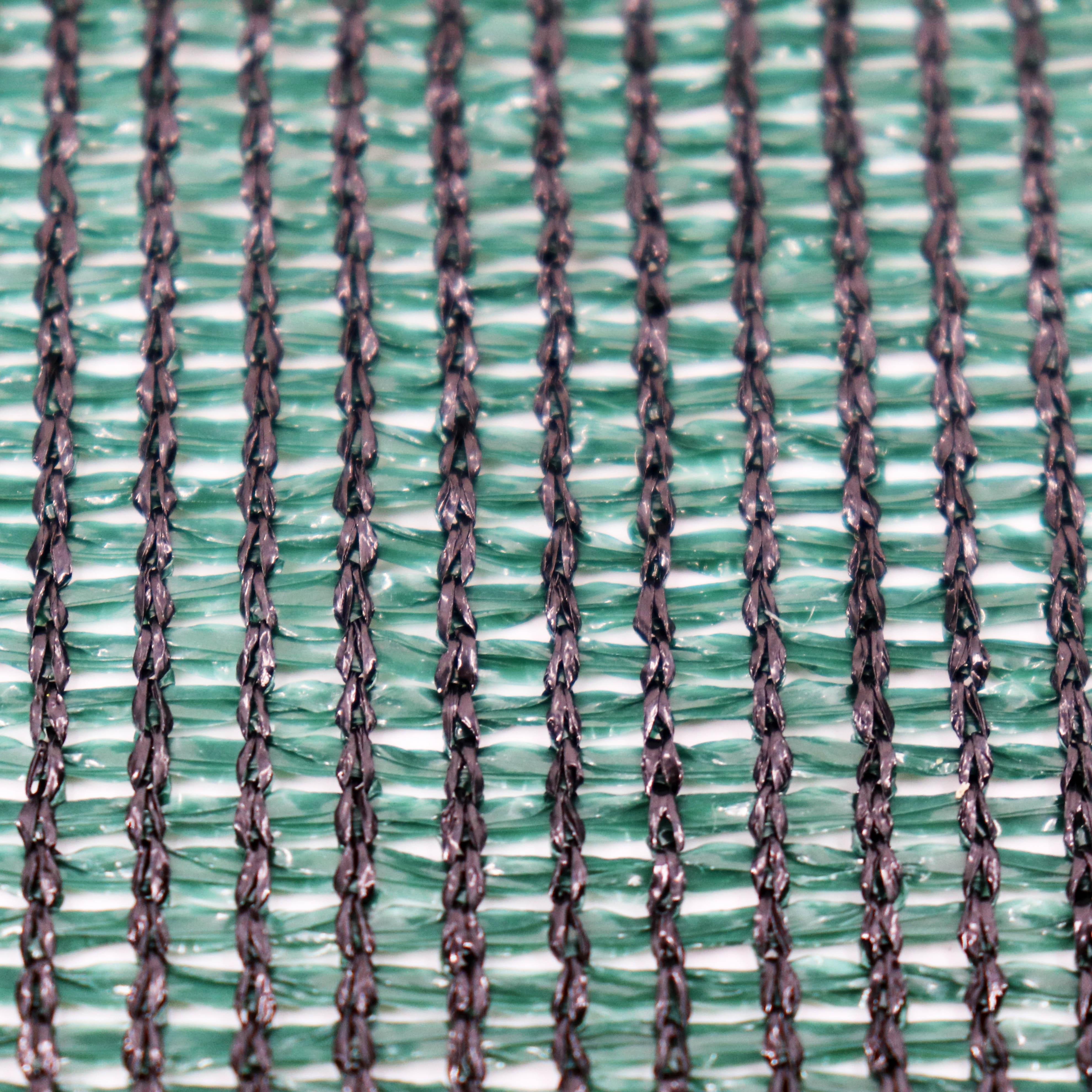 46m Schattiernetz Zaunblende Tennisblende Windschutznetz 150g 2m breit