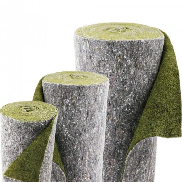 80m x 1m Ufermatte grün Böschungsmatte Teichrandmatte für die Teichfolie