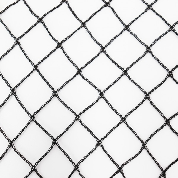 Teichnetz 36m x 16m schwarz Fischteichnetz Laubnetz Netz Vogelschutznetz robust