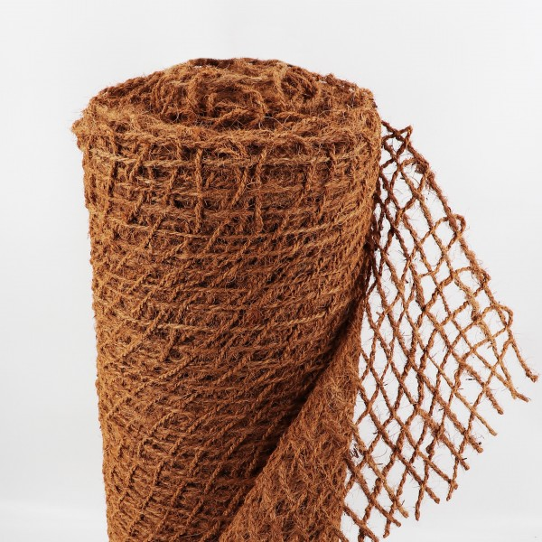 40m Böschungsmatte Ufermatte Kokos 1m breit Teichfolie Kokosmatte 450g