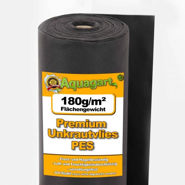 600m² Unkrautvlies Gartenvlies Mulchvlies Vlies 180g 2m breit Premium Qualität