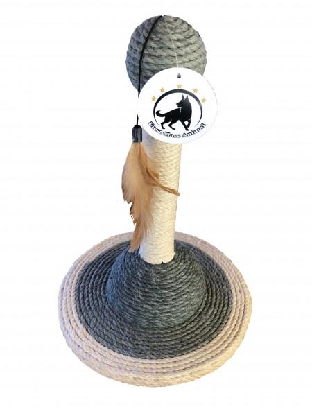 Katzenspielzeug 2er Sparset Kratzspielzeug Kratzstamm Kratzbaum Kratzsäule Sisal